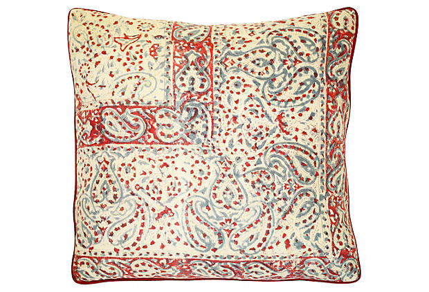 Indian Paisley Pillow VPL00349
