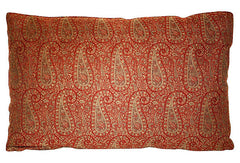 Wool Paisley Bolster Pillow VPL00428
