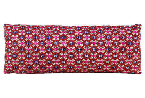 Chinese Wedding Fabric Bolster Pillow VPL00491