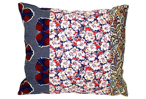 Floral Patchwork Pillow VPL00011