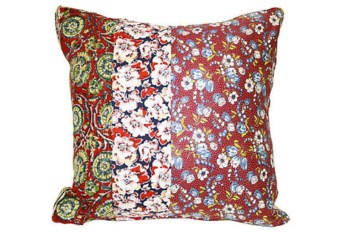 Floral Patchwork Pillow VPL00019