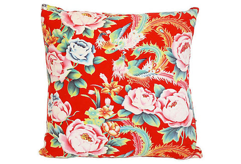 Chinese Floral Pillow VPL00053