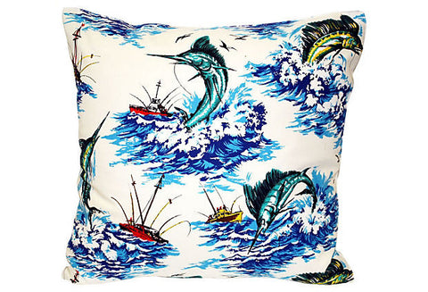Marlin Fishing Pillow VPL00070