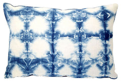 Shibori Indigo Pillow VPL00138