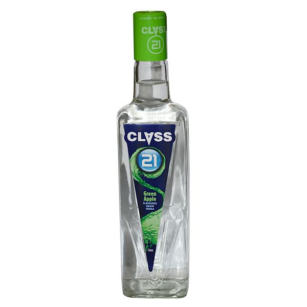 Class 21 Green Apple Vodka - 750 ML