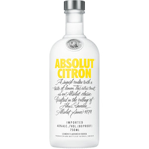 Absolut Citron - 750 ML