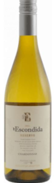 Escondida Chardonnay Reserva - 750 ML