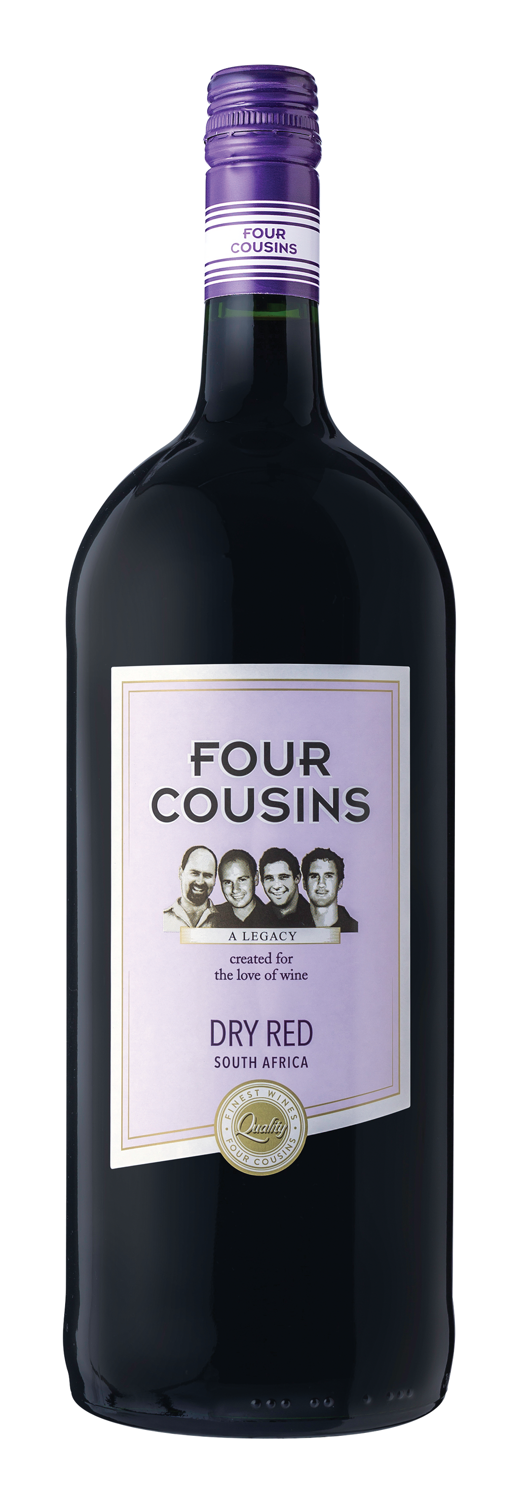 Four Cousins Dry Red - 1500 ML