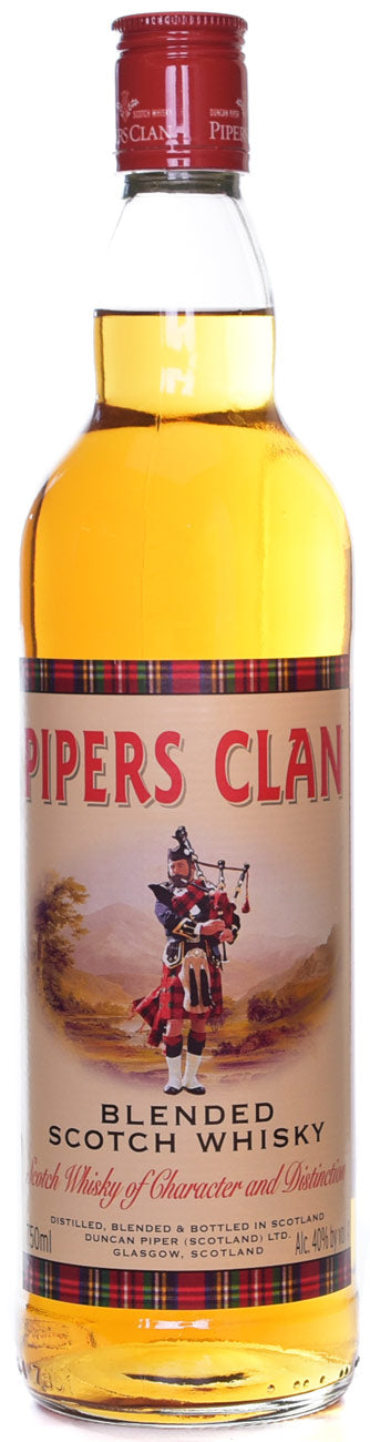 Pipers Clan Scotch Whisky - 750 ML
