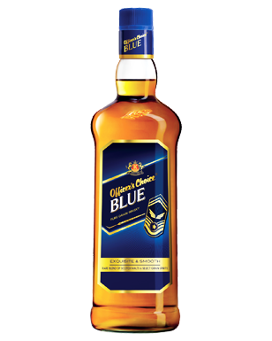Officers Choice Blue Grain Whisky - 375 ML