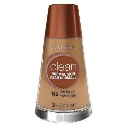 Covergirl Clean Liquid Makeup for Normal Skin - Soft Honey #155