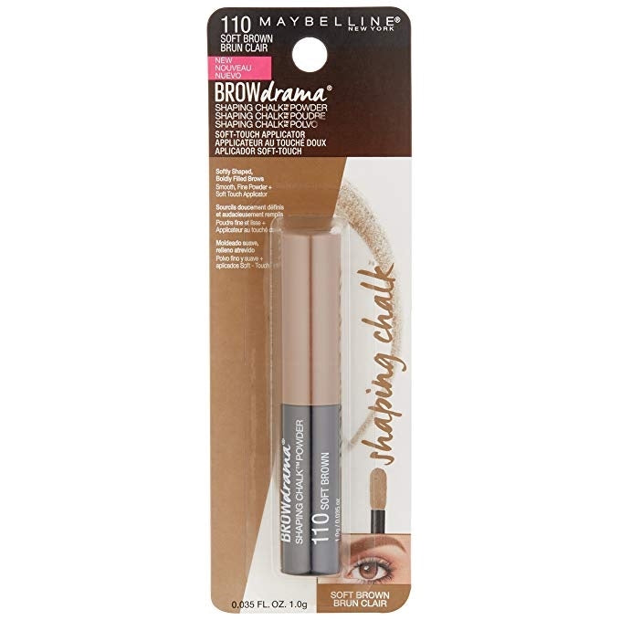 Maybelline Brow Drama Shaping Chalk - Soft Brown #110