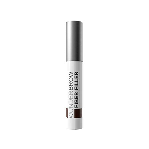 Wunder2 WunderBrow Fiber Filler Eyebrow Powder Makeup - Auburn