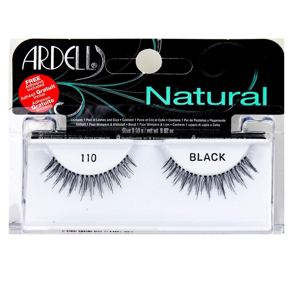 Ardell Natural 1 Pair Lashes - Black #110