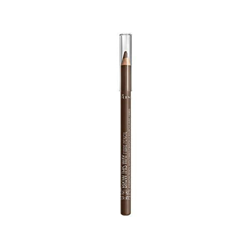 Rimmel Brow This Way Fibre Pencil - Medium Brown #2