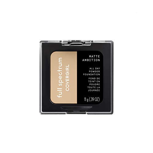 Covergirl Matte Ambition, All Day Powder Foundation, Light Neutral, 0.38 Ounce