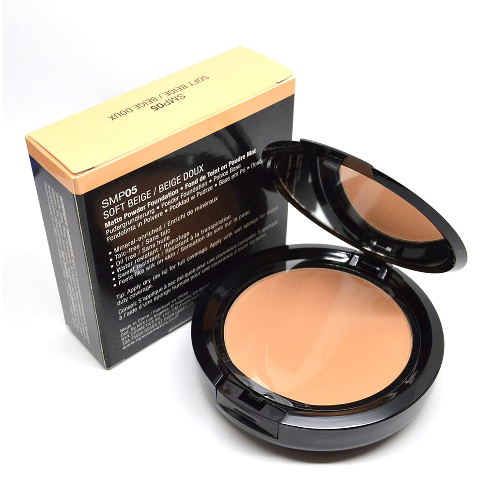 NYX Stay Matte Powder Foundation - #SMP05 Soft Beige