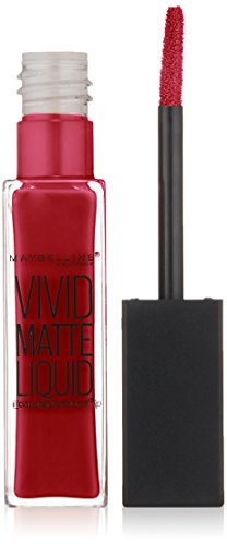 Maybelline Color Sensational Vivid Matte Liquid Lipstick - Possessed Plum #50