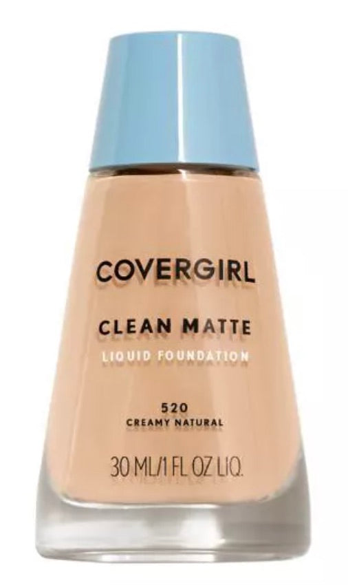 CoverGirl Clean Matte Foundation - Creamy Natural #520