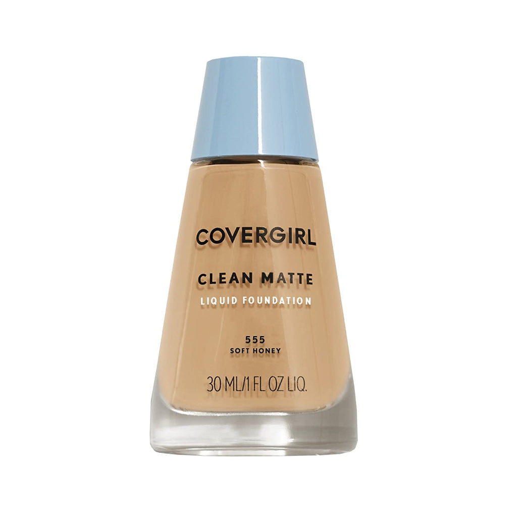 CoverGirl Clean Matte Foundation - Soft Honey #555