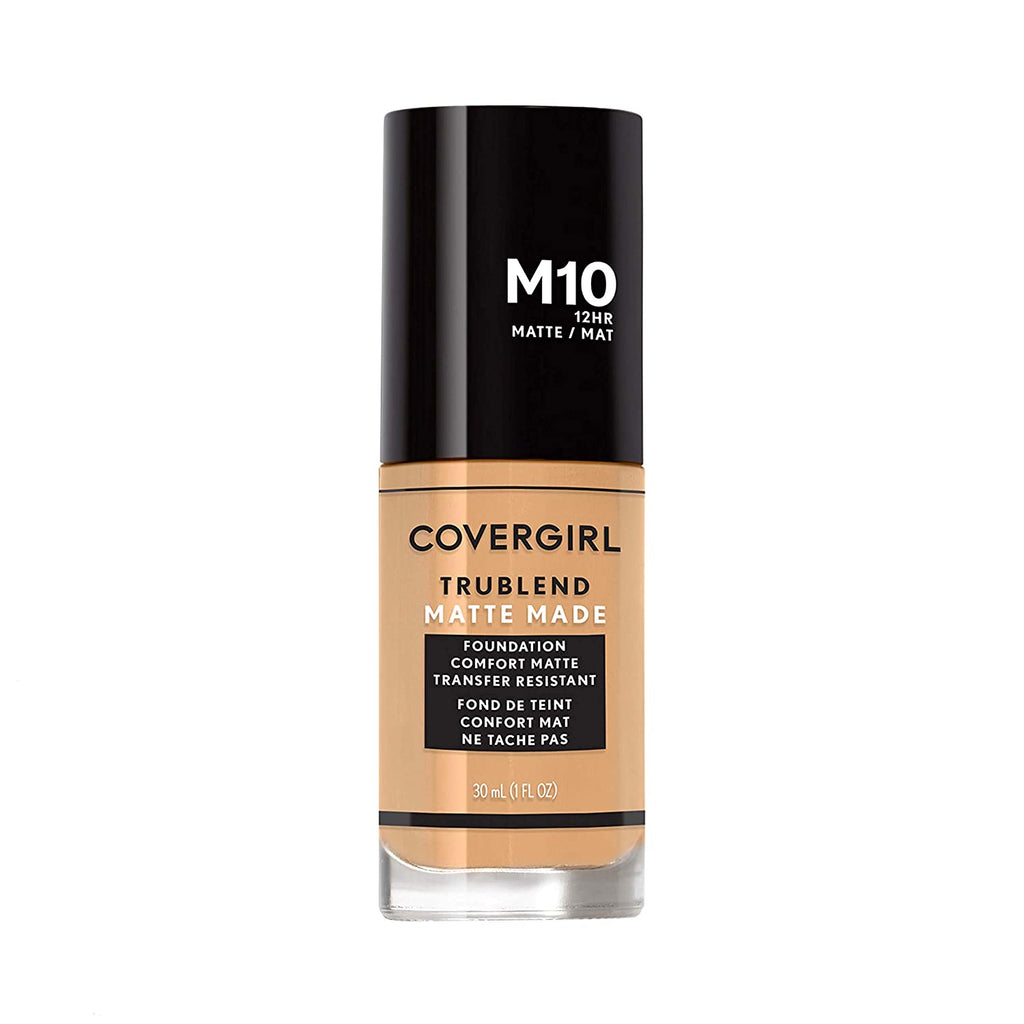 Covergirl Trublend Matte Made Liquid Foundation - Golden Natural #M10
