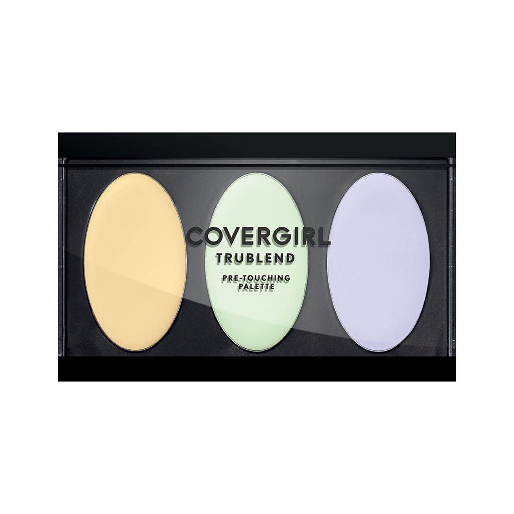 CoverGirl Trublend pre-touching palette - yellow/green/purple