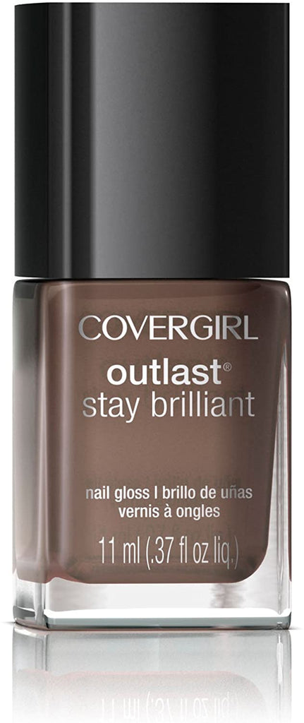Covergirl Outlast Stay Brilliant Nail Polish - Toasted Almond #220
