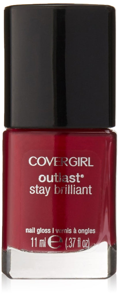 Covergirl Outlast Stay Brilliant Nail Polish - Wine To Five #190