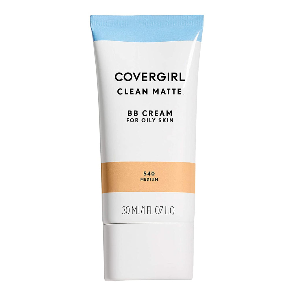 CoverGirl Clean Matte BB Cream for Oily Skin, 0.34oz - medium #540