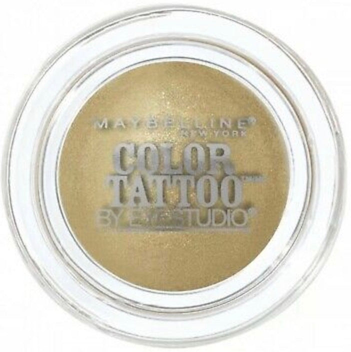 Maybelline New York Eye Studio Color Tattoo 24HR Cream Gel Eyeshadow - Bold Gold