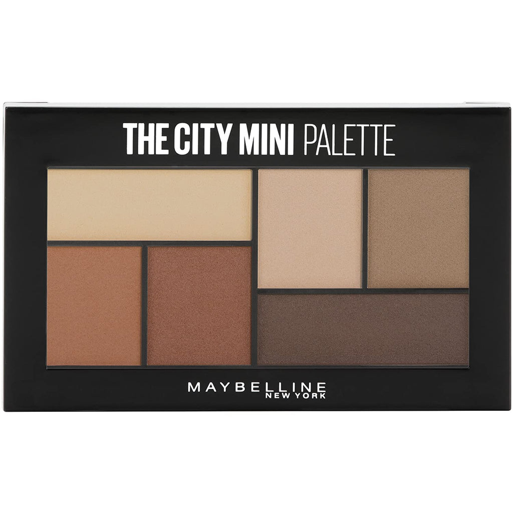 Maybelline The City Mini Eyeshadow Palette - Brooklyn Nudes #500