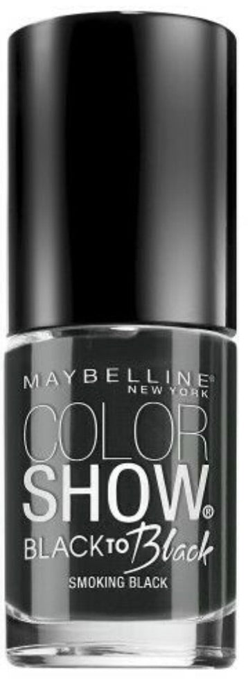 Maybelline Color Show Nail Polish - Smoky Black #704