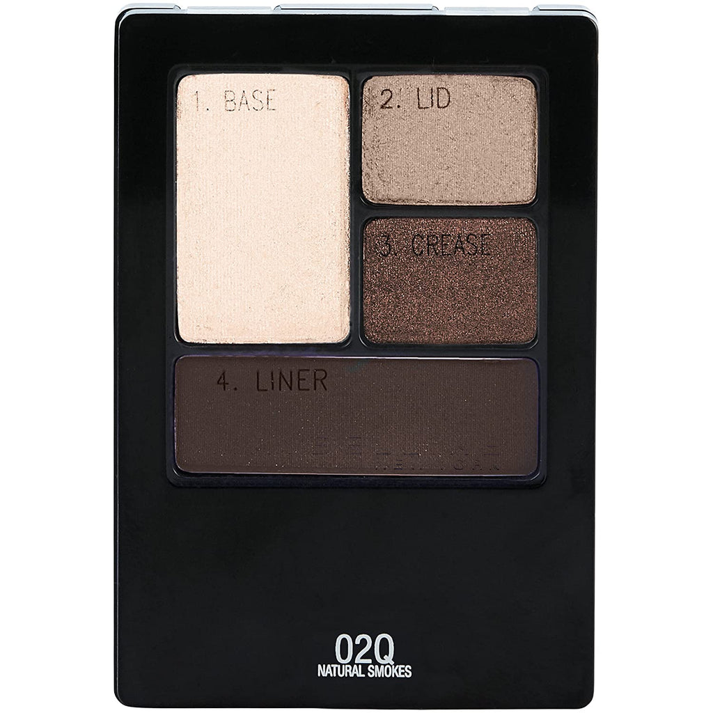 Maybelline Expert Wear Eyeshadow Quad - natural smokes #02Q
