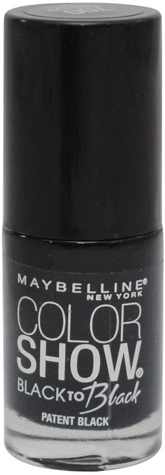 Maybelline Color Show Nail Polish - Patent Black #700
