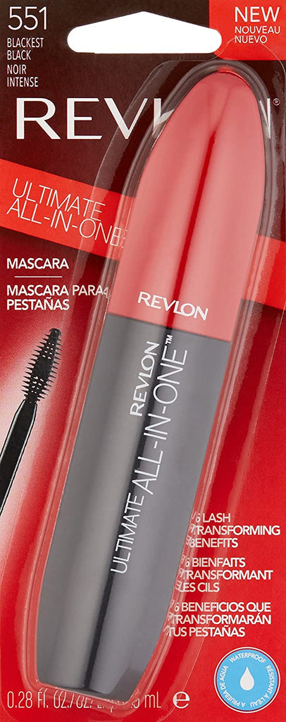 Revlon Ultimate All-in-One Mascara - blackest black #551