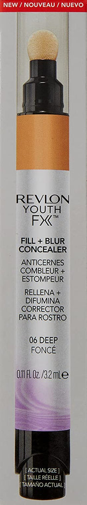 Revlon Youth Fx Fill + Blur Concealer - Deep 06