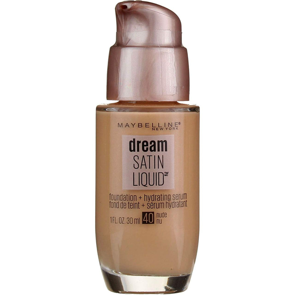 Maybelline New York Dream Satin Liquid Foundation- Nude #40
