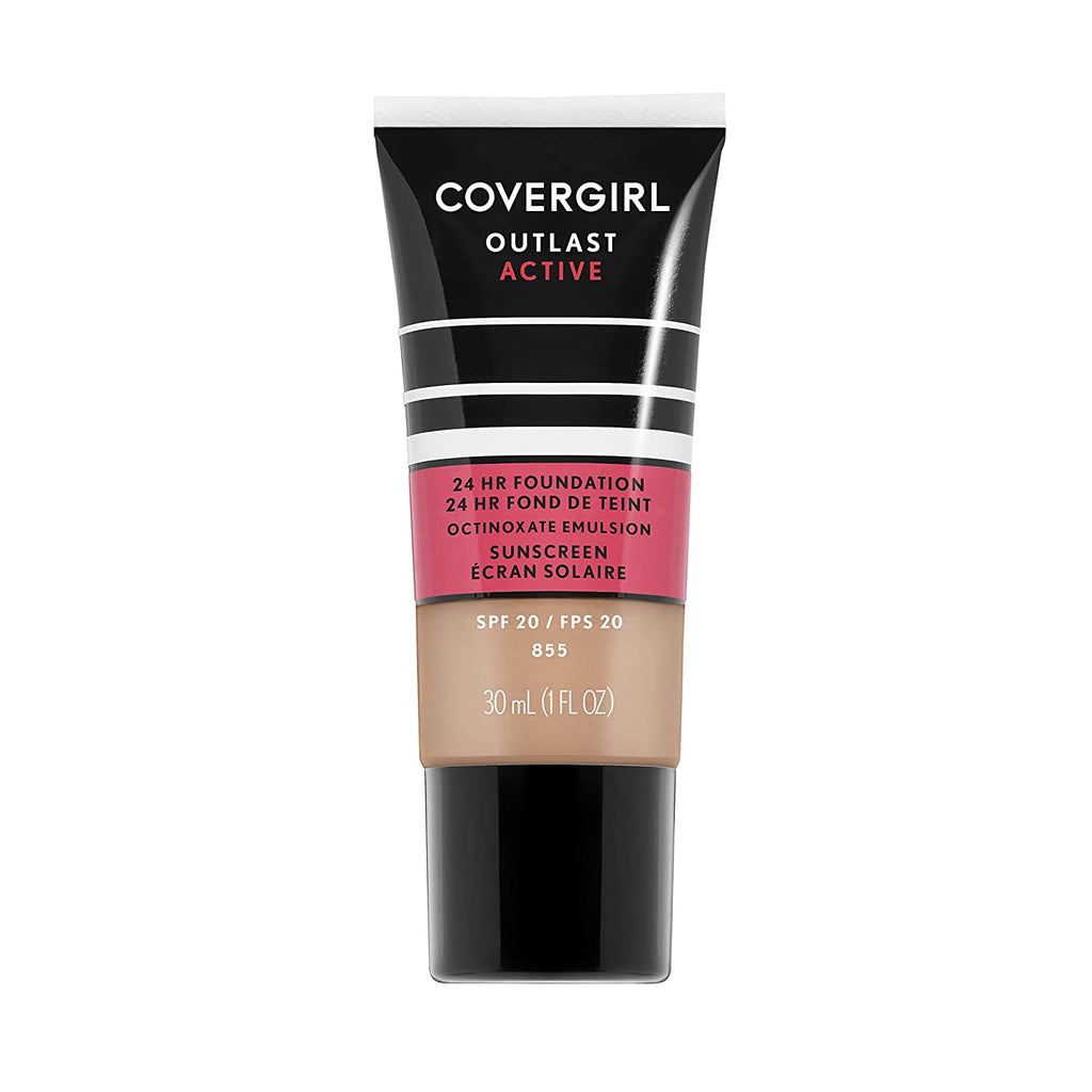 Covergirl Outlast Active Foundation - Soft Honey, #855