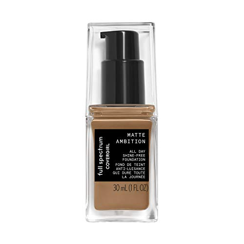 Covergirl Matte Ambition, All Day Foundation, Tan Golden 2, 1.01 Ounce