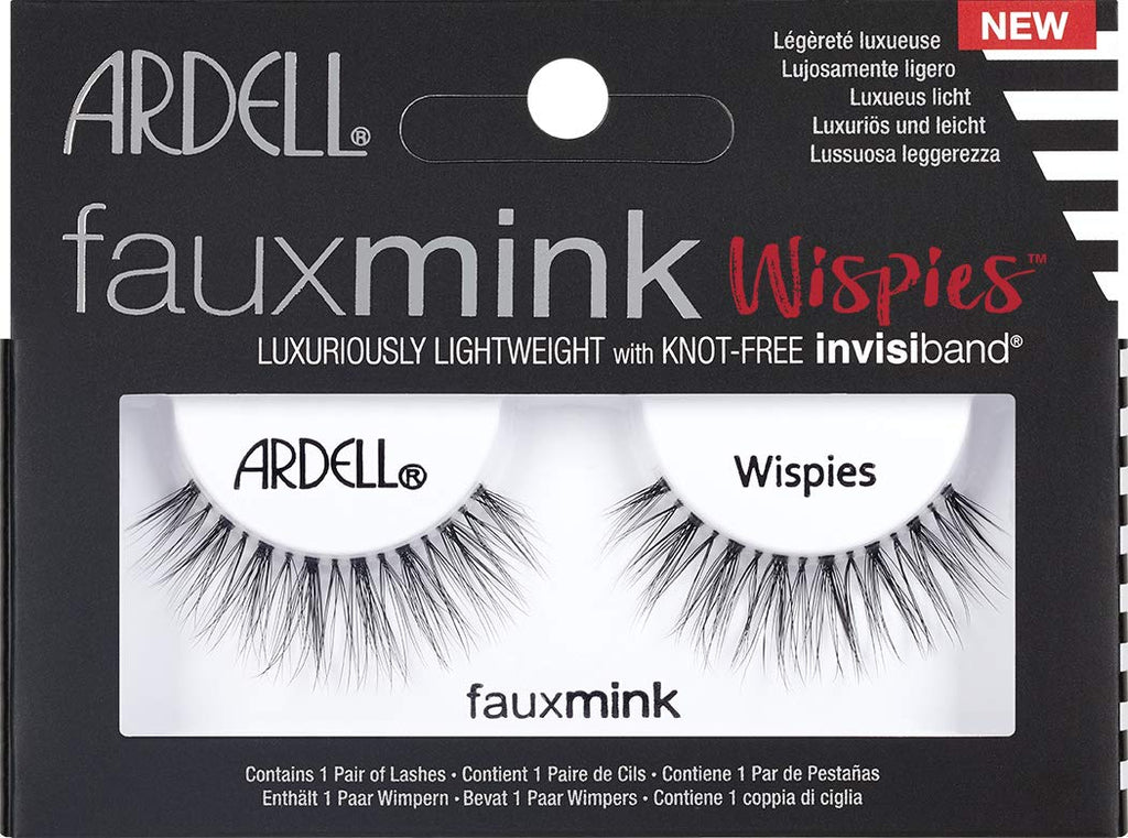Ardell Faux mink wispies 1 pair lashes - Wispies