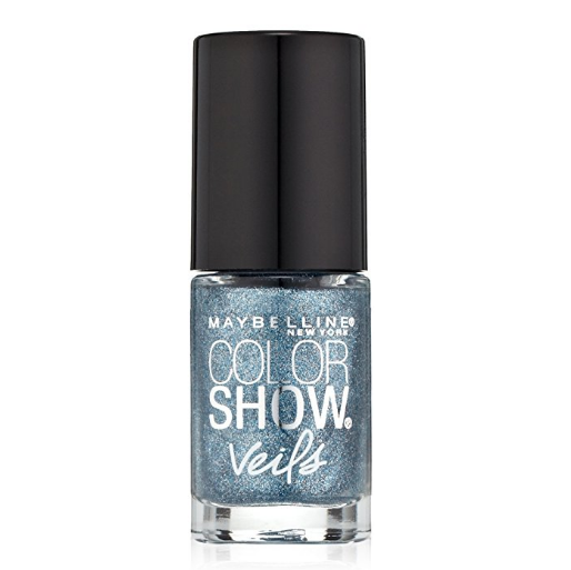 Maybelline Color Show Veils Nail Lacquer Top Coat - Blue Glaze #616