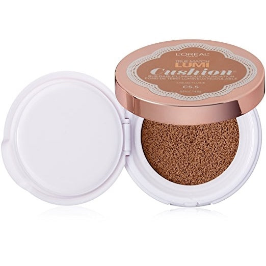 L'Oreal Tru Match Lumi Cushion Foundation - #C5.5 Natural Tan