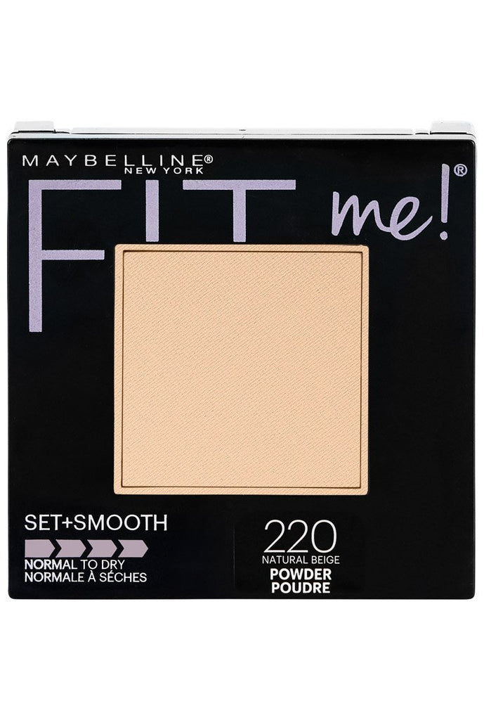 Maybelline FIT ME! Set + Smooth Powder - Natural Beige #220