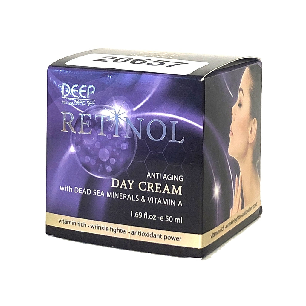 Crystal Line Deep from the Dead Sea Retinol Anti Aging Day Cream - 1.69 fl oz
