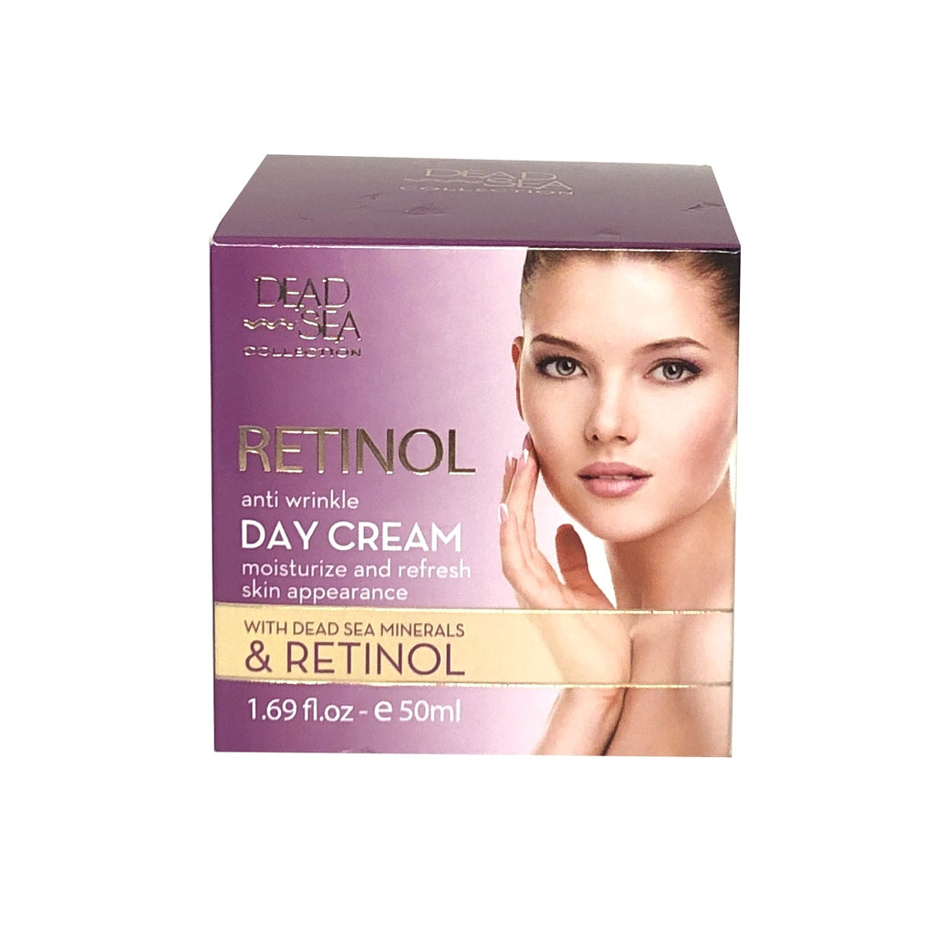 Crystal Line Dead Sea Collection Retinol Anti Wrinkle Day Cream - 1.69 fl oz