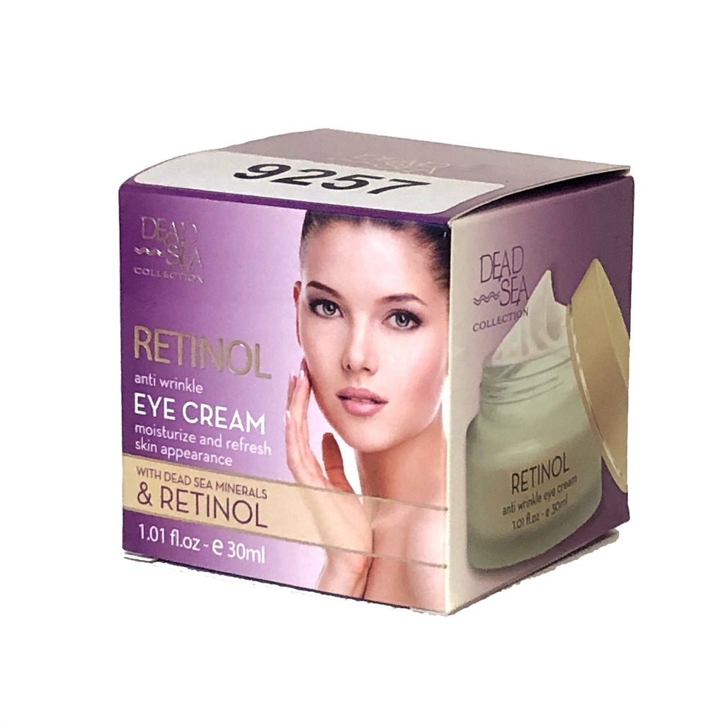 Crystal Line Dead Sea Collection Retinol Anti Wrinkle Eye Cream - 1.01 fl oz