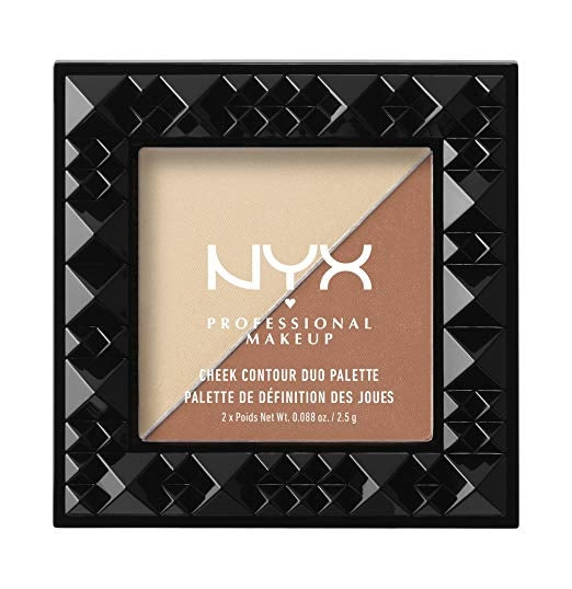NYX Cheek Contour Duo Palette - Perfect Match #CHCD03