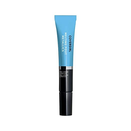 CoverGirl melting Pout Metallics Gel Liquid Lipstick - Sunday blue #285