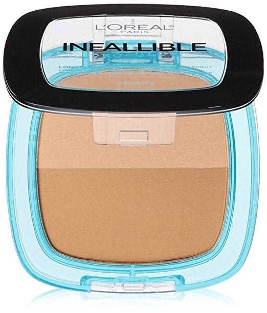 L'Oreal Infallible Pro Glow Pressed Powder - Creme Cafe #27