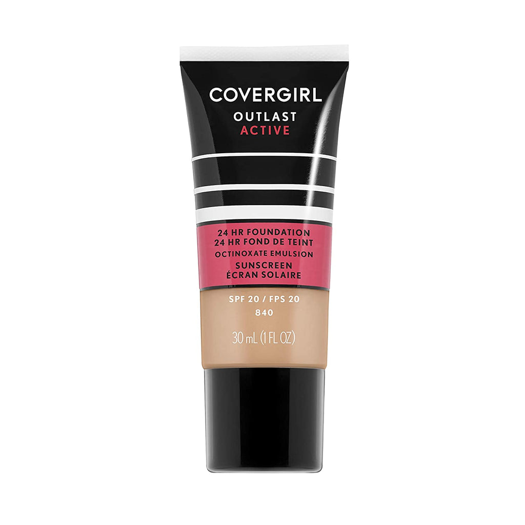Covergirl Outlast Active Foundation - Natural Beige #840
